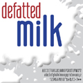defatted-milk